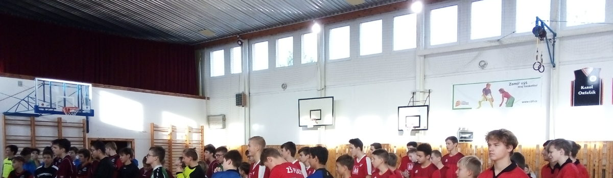 Florbalový turnaj starších žáků